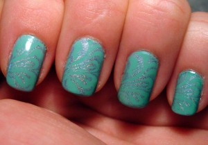 Color Club Fashion Addict and Konad plate 63