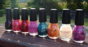 L-R: Mercury Rising, Boogie Nights, Serena And Chloe, Pink Forever, Gorgeous, Cloud 9, Pearl Harbor, Bali Mist